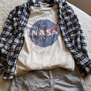 Tops - NASA Tee
